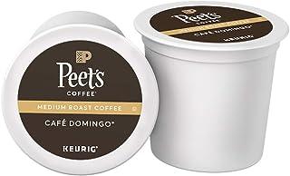 Peet's Coffee Café Domingo, Medium Roast, 54 Count Single Serve K-Cup Coffee Pods..