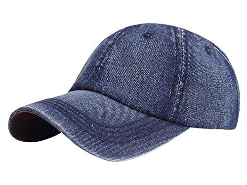 Aivtalk - Sombrero Visera de Vaquero Color Sólido Ajustable Transpirable de Sombrero al Aire Libre para Hombre Mujer de Turismo