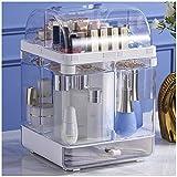 HLDWXN Organizador del Maquillaje, Joyería Ajustable Y El Soporte De Exhibición Cosmético, 4 Capas Componen La Caja De Almacenaje, Compartimento De Almacenamiento De Cosméticos