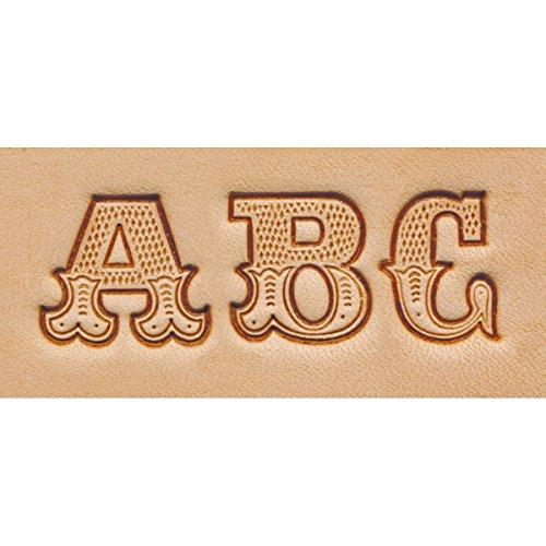 Tandy Leder Factory Alphabet Stempel Set-Leather Art .75-inch