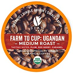 GREAT TASTE: Our 100% Arabica coffee comes from the high altitude of Uganda and is harvested in small batches to ensure only the highest quality of beans are selected. With each sip of this coffee, you will taste notes of plum, red berry, and caramel...