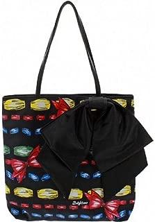 take a Beau Tote Colorful Bow Tote Bag Handbag Purse
