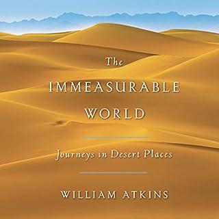 The Immeasurable World audiobook cover art