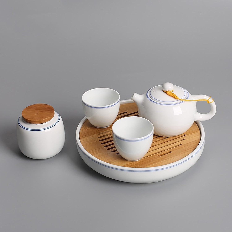 Tea set Ensemble de thé en porcelaine blanche Dehua Ensemble de thé en porcelaine en porcelaine Tea set