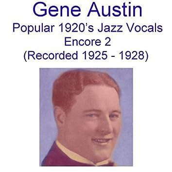 Popular 1920's Jazz Vocals (Encore 2) [Recorded 1925-1928]