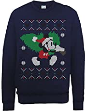 Brands In Limited Mickey Mouse Christmas Tree Heren Sweatshirt