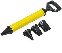 1 pcs combinada con pistola de mortero Pistola de calafateo de mortero bomba de mortero manual con inyector de lechada de mortero de 4 boquillas Herramientas de calafateo