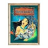 FANART369 Pocahontas #3 Poster A3 Größe Filmposter