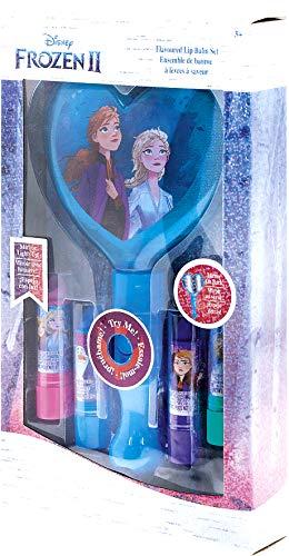 Reine des Neiges 2 - Mon Set Baumes à Lèvres et Miroir Lumineux - Lansay