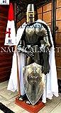NauticalMart Traje Completo de Armadura, Medieval, Caballero, para Disfraz de Halloween, Regalo