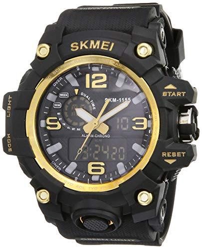 SKMEI Analogue - Digital Men's Watch (Black Dial)