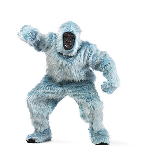 Limit Sport - Disfraz de peluche gorila para adultos, color azul claro, talla L (MA067A)