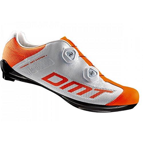 DMT Road Schuh R1S, weiß/orange Gr.42 (42)