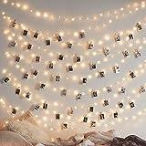 Batería de cadena de cobre led / usb foto de la fiesta del día de navidad decoración del hogar cadena de luz de hadas A1 2m20 batería de leds