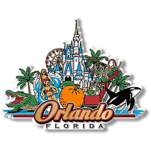 City Collage Magnet - Orlando, FL