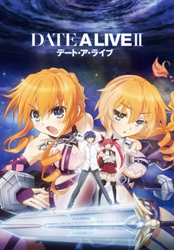 """Date a Live: Japanese Anime Notebook, Otakus Gifts (6"""" X 9"""" 100 Pages) With Blank Paper for Drawing, Writing, Sketching Notebook for Manga Boys, Girls, Teens, Teen Artists."""