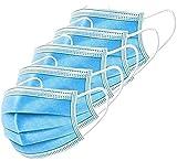 TÜV GEPRÜFT: 10x Mundschutz, Einweg 3-lagig Gummizug Atemschutzmaske Steril Staubschutz Mund Nase Maske EN14683 JIANGXI
