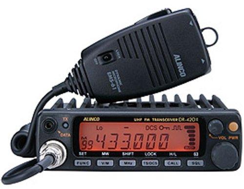 ALINCO アマチュア無線機 430MHz モービルタイプ 20W DR-420DX