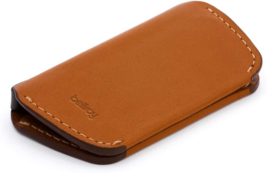 Bellroy Key Cover, 2nd Edition (Leather Key Cover, Holds 2-4 Keys) - Caramel