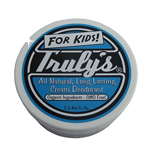 Truly's Deodorant for Kids, Organic