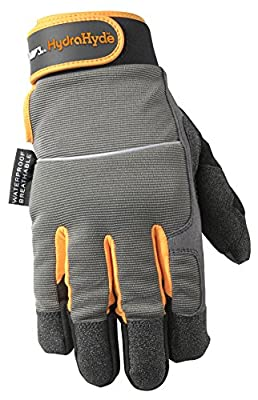 Wells Lamont HydraHyde Insulated Synthetic Leather Cold Weather Gloves