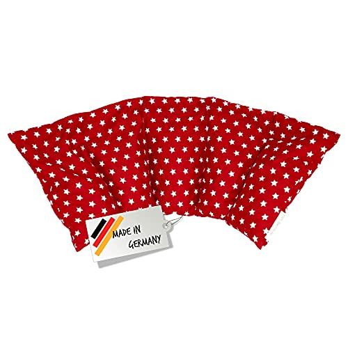 Cuscino con noccioli di ciliegia all'interno/cuscino da rilassamento per il trattamento termico – cuscino termico riscaldabile nel microonde // (rosso)