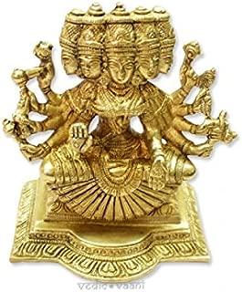 Vedic Vaani Gayatri Statue in Brass