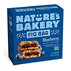 Nature's Bakery Blueberry Fig Bars, 2 oz, 6 ct