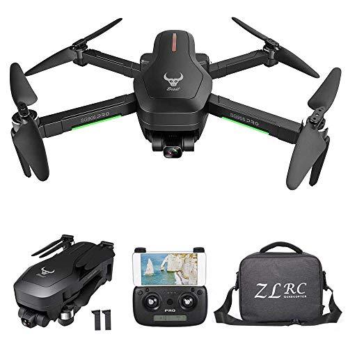 GoolRC SG906 Pro GPS RC Drone con Cámara 4K 5G WiFi 2 Ejes Gimbal 25mins Tiempo de Vuelo Quadcopter sin Escobillas Sígueme MV Foto Gestual (Bolsa & 2 Batería)