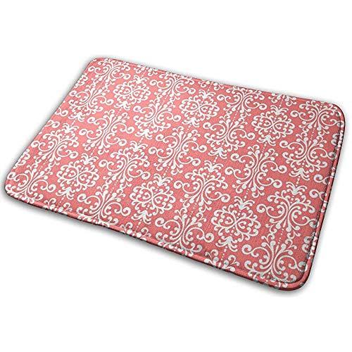 N/A Owl tegels en matten traagschuim badmatten antislip zacht absorberend rubber Back Runner mat, wit