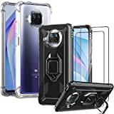 IMBZBK [4 Sets] 2pcs Case for Xiaomi Mi 10T Lite 5G + 2pcs