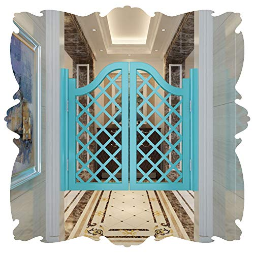 Cafe Puertas Contrapuertas Prefabricado Interior Puerta batiente de salón con Bisagras de pivote de Gravedad diseño de cuadrícula Pino Puerta de mayordomo de salón, 22 tamaño