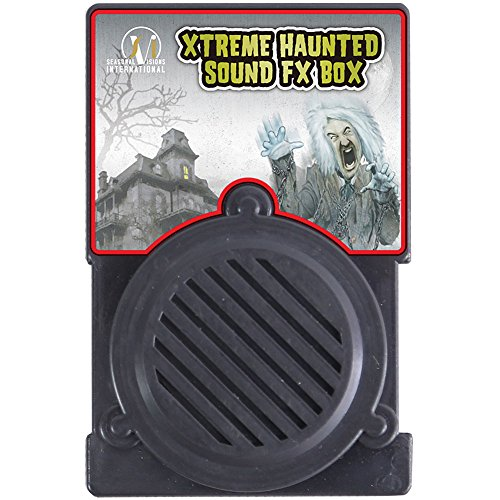 Xtreme Haunted House Sound FX Box Halloween Party Effects Motion Activated