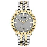 ブローバ Bulova Accutron II Moonview Two-Tone Grey Dial Watch [並行輸入品]