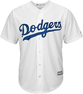 Majestic Los Angeles Dodgers Cool Base Pro Style Game Jersey Men's