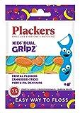 Plackers Porte-fils dentaire - Parfum fruite - 1 paquet de 75 Unités pour enfant