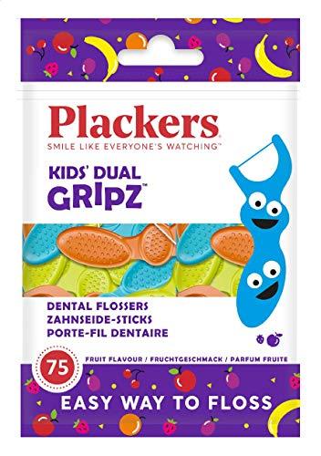 Plackers Kinder Flosser-Set, 75 Karat, 1 Packung ? 150 St?ck