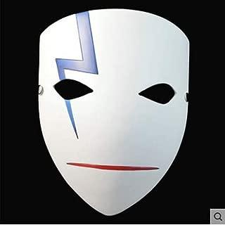 LFOZ Deluxe Horrible Clown Mask Halloween Evil Killer with Green Hair Demon Terror Mask (Color : B)