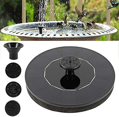 Solarenergie im Freien Vogelbad Wasserbrunnen Pumpe Solar Sprinklerbrunnen Für Spülen im Freien und Gartendekoration