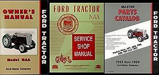 1953-1955 Ford NAA Tractor 3 Manual SET Reprint