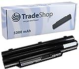 TradeShop Akku 5200mAh 10,8V/11,1V für Fujitsu-Siemens Lifebook A532 AH532 A532/GFX ersetzt CP567717-01, FMVNBP213, FPCBP331, FPCBP347AP