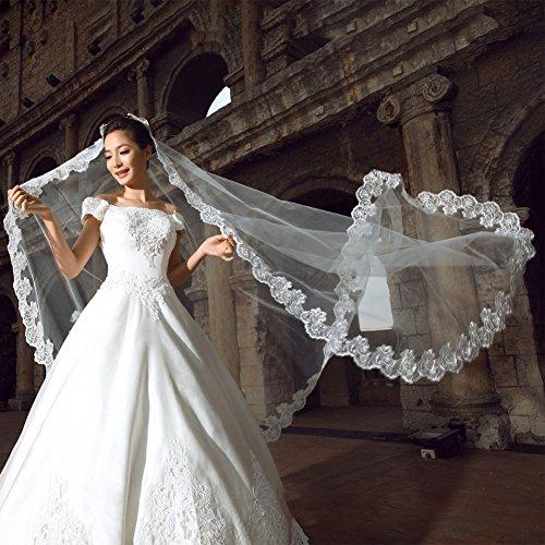 Velo largo para novia, accesorio de boda, tocado de tul suave, accesorio...