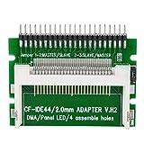 WolfGo Tarjeta adaptadora - Tarjeta de Memoria Compact Flash CF a 2.5 Pulgadas 44Pin IDE Laptop SSD HDD Adaptador
