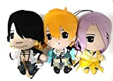 Touken Ranbu Plush Doll Vol.10 x3 Nagasone Kotetsu Urashima Hachisuka Game F/S