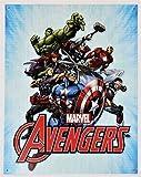 Marvel Comics The Avengers 16' x 12.5' (D2241) Nostalgic Super Heroes Tin Sign