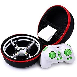 DW1 Mini Quadcopter Drone for kids, 3D flip UFO Design Headless Mode Mini Drone toy, RC Quadcopter with Portable Transport Case
