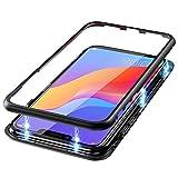 Funda Clear Hard Compatible con   Huawei Y6 Prime 2018 Caja de Vidrio con   de
