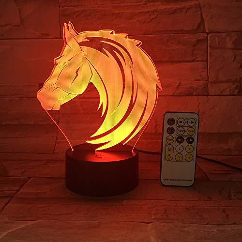 Fernbedienung oder Touch Control Pferd Spielzeug Farbe Tier nachtlicht tischlampe Lava Baby nachttischlampe