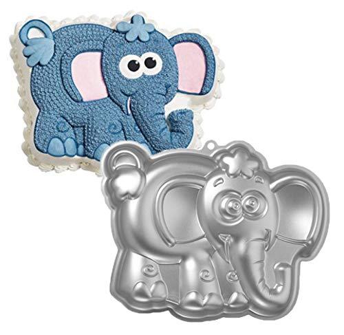 Elefant Kuchen Backform 3D Tier Aluminium Kuchenform ersten Geburtstag Kuchenform