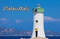 大人のためのジグソーパズルイタリアパラウ灯台パズル1000ピース木製旅行のお土産